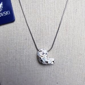 Swarovski Rhinestone Heart Necklace
